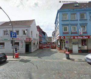 Herbertstraße (in der Straße wurde nicht fotografiert)